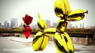 How Jeff Koons Makes Million-Dollar Art