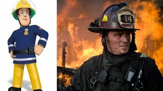 Fireman Sam Characters In Real Life 2017