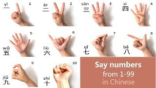Learn Chinese Numbers: Count 1 to 10, 1 to 20, 1 to100 in Mandarin Chinese - Day 15