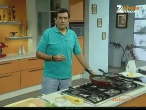 How To Make Poached Eggs On Vegetables | Recipe For Breakfast | Sanjeev Kapoor | Khana Khazana