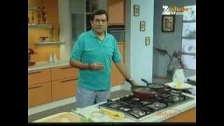 Poached Eggs On Vegetables - Sanjeev Kapoor - Khana Khazana