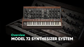 Model 72 Synthesizer System: Overview – Softube