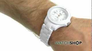 Unisex Ice-Watch Solid White Watch (SD.WE.U.P.12)