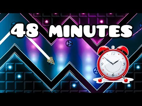 """48-Minute Level   """"True Values Of Life"""" By Relayx And More (Demon) [Practice Mode] Geometry Dash"""
