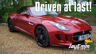 Finally! The Jaguar F-Type Driven (And Compared With My Lotus Evora 400)