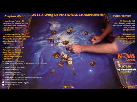 2017 X-Wing US Nationals  TOP 16