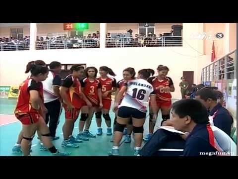 Indonesia vs Myanmar - 2014 FIVB Women WCH qualification