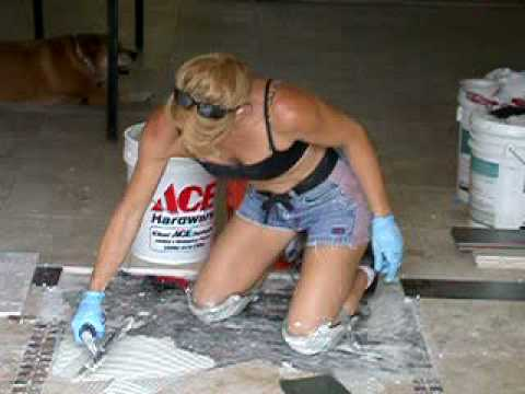 Tile Installation Sexy Girl Tile Setter featured most
