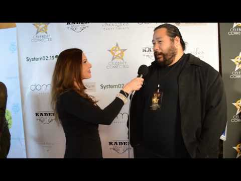 Cooper Andrews talks to Teri Marie about the Oscars Celebrity Connected gifting suite.