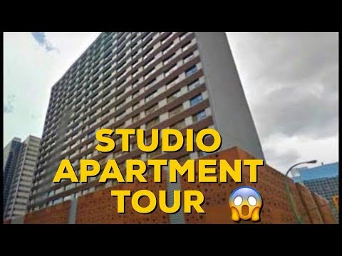💵EVERYTHING THRIFTED💵  STUDIO APARTMENT TOUR