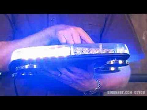 Code 3 420 Halogen Beacon Mini Lightbar Doovi