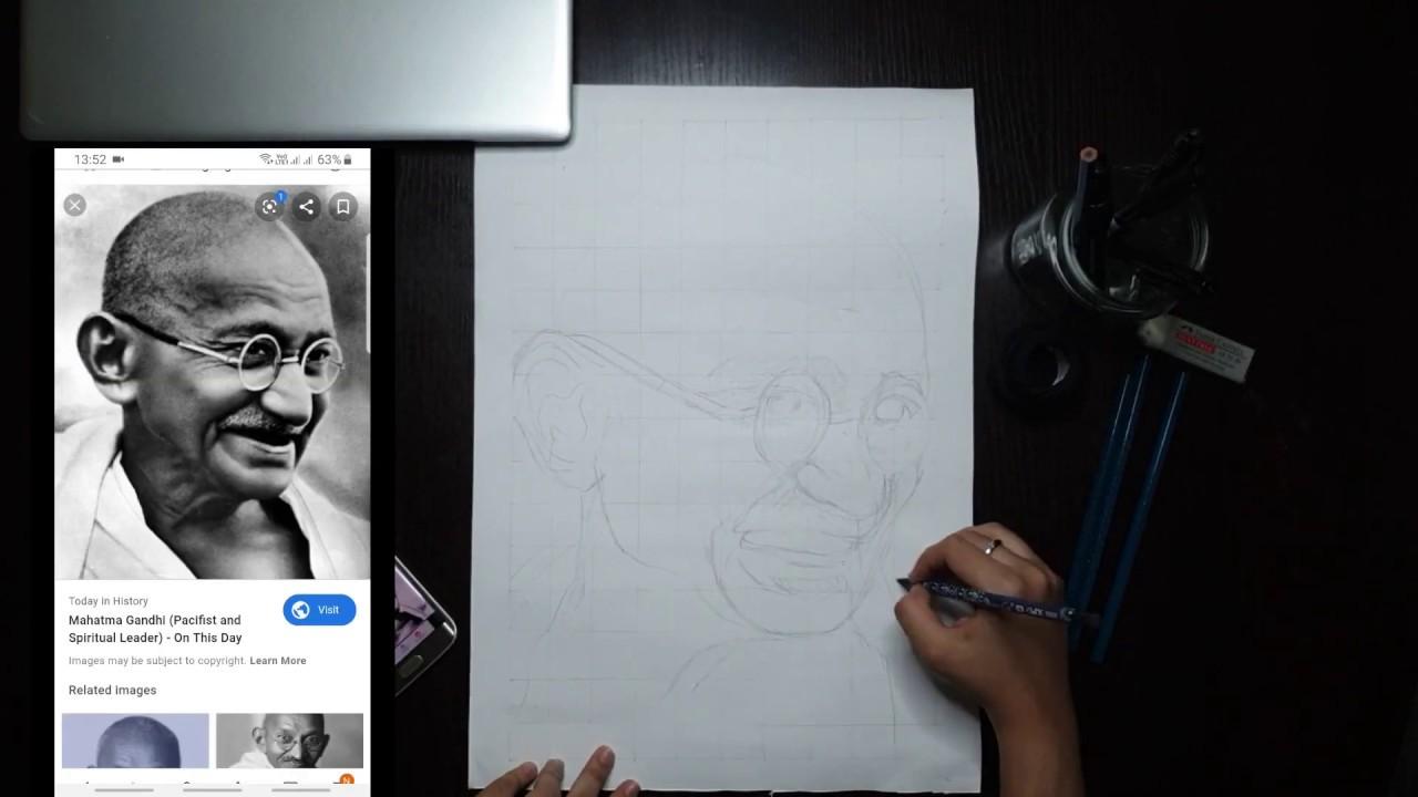 Diy string art portrait of mahatma gandhi pharmacy fraud