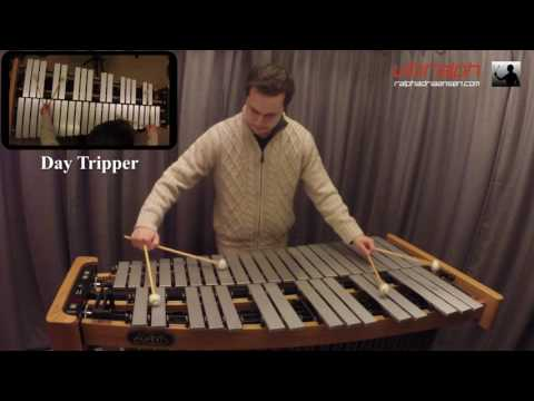 Day Tripper / The Beatles for vibraphone