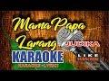 JUDIKA - Mama Papa Larang Karaoke Lower Key (Chord Gm)