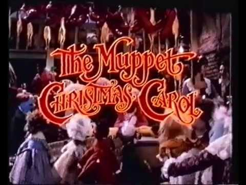 The Muppet Christmas Carol.The Muppet Christmas Carol Trailer 1992 Vhs Capture