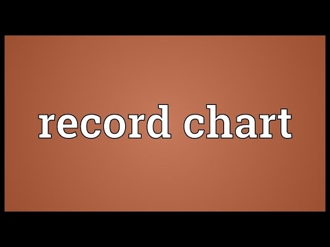 Record chart Meaning