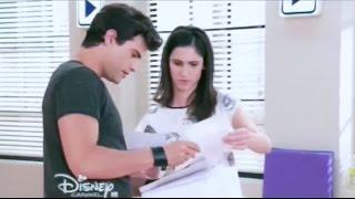 Violetta 3 - Diego y Francesca juntan la canción de Violetta y León (03x77)