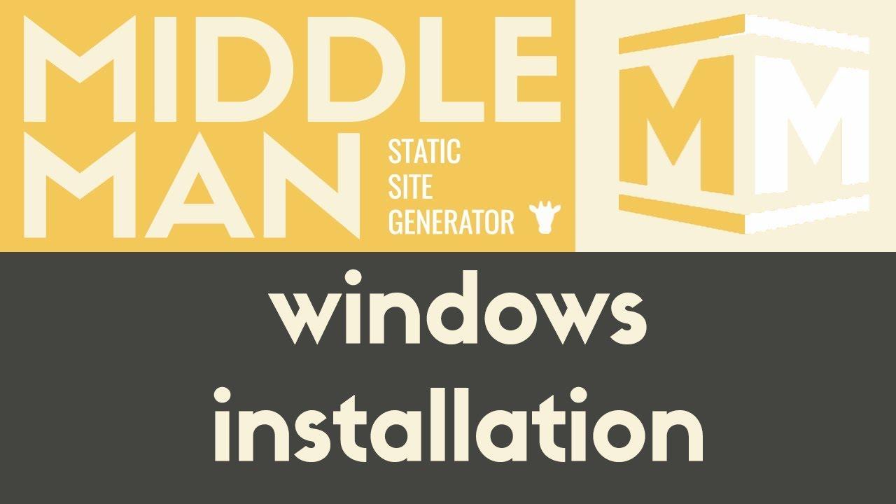 Middleman: Installation