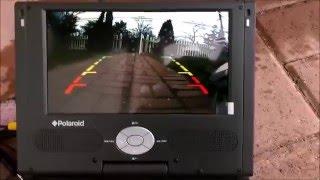 Esky 8 LED Night Vision Car Front & Rear Mini Backup Camera