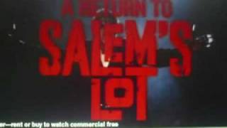 A Return To Salem's Lot - Trailer