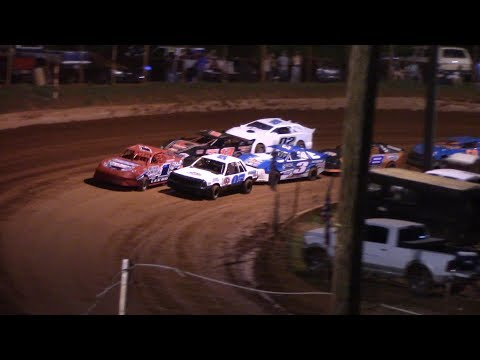 Winder Barrow Speedway Stock 4 Cylinders A's Feature Race 6/1/19