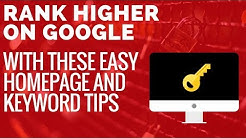 Fix Your Website Homepage SEO With These Easy Tips