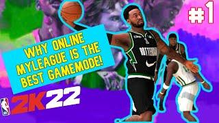 NBA 2K22 - Next-Gen Online MyLeague #1 - Draft & First Game!