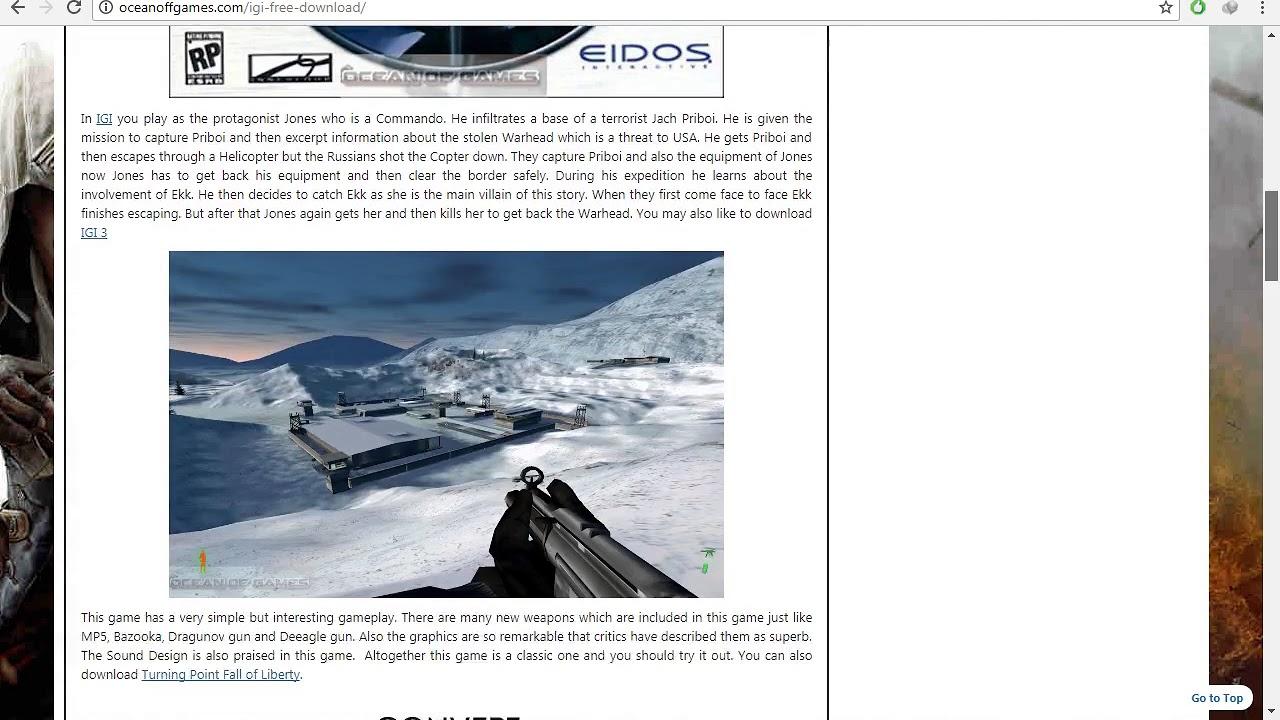 igi 2 game download for pc full version ocean of games