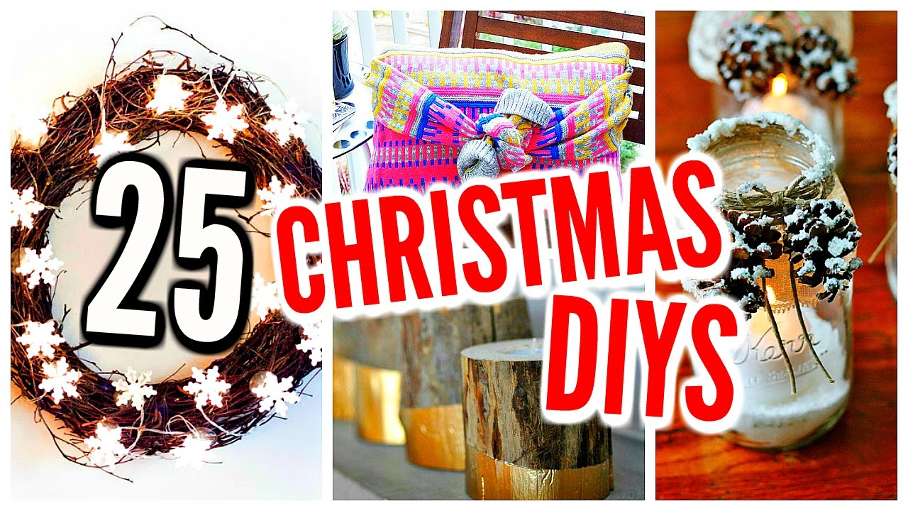 Christmas Decorations For Your Room Diy