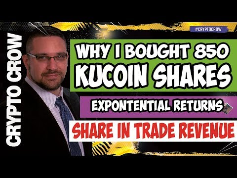 Why I Bought 850 Kucoin Shares (KCS) - SEC Pissing Me Off