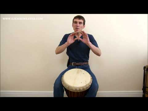 Djembe Lesson: Polyrhythmic Pulses in 12/8 Mp3