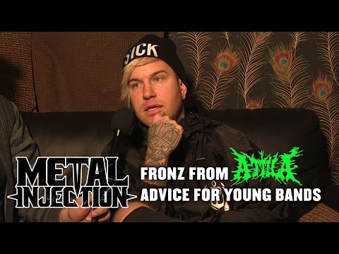 FRONZ from ATTILA Offers Advice For Bands Starting Out | Metal Injection