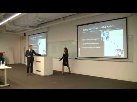 Team Arkha; Hult Prize Shanghai campus winners '14-15