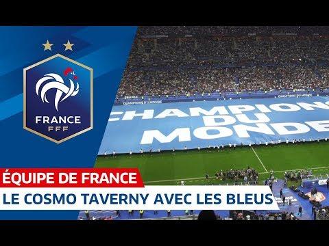 Fondaction : Les jeunes du Cosmo Taverny avec les Bleus I FFF 2018-2019