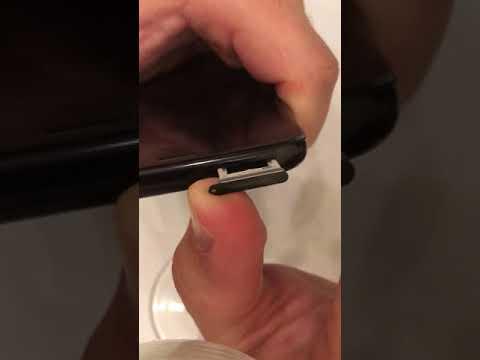 Samsung Galaxy S8 сломался слот сим
