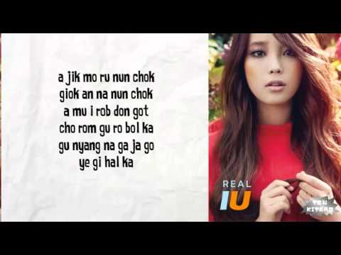 IU - Good Day Lyrics (easy lyrics)