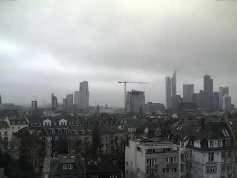 Herbst 2014 als Timelapse - Skyline Webcam Frankfurt