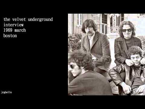 The Velvet Underground Interview @ Boston, 1969