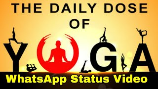 International Yoga day WhatsApp status | wishes | quotes | Yogaday | Happy yoga day 2020 Theme Image
