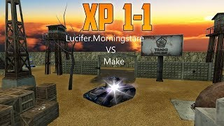 Tanki Online Lucifer vs Make Epic Shoots 1-1 XP Zone