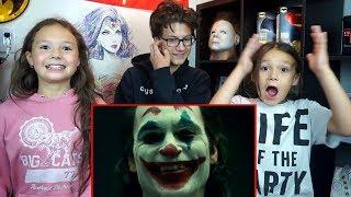 Joker Joaquin Phoenix Makeup Test REACTION