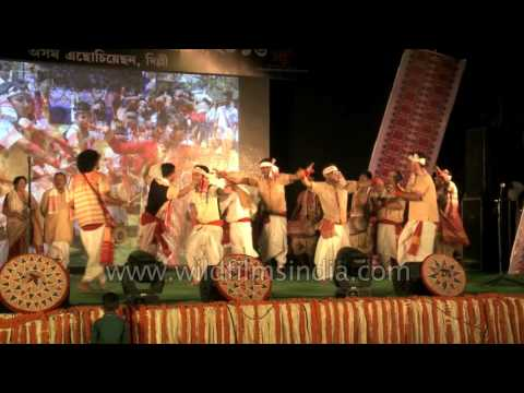 Rongali bihu song and dance from Assam