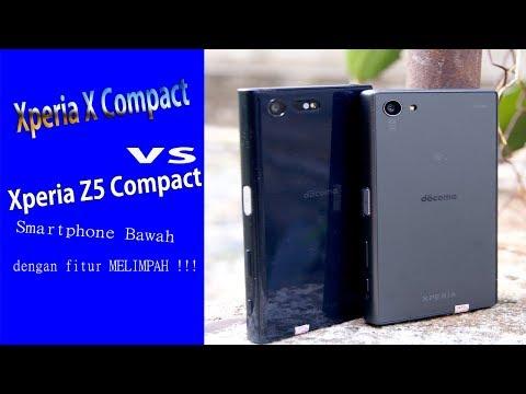 #Unboxing Sony Xperia X Compact Vs Xperia Z5 Compact Smartphone Murah Dengan Fitur Melimpah.