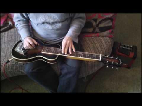 unknown hula - lap steel guitar