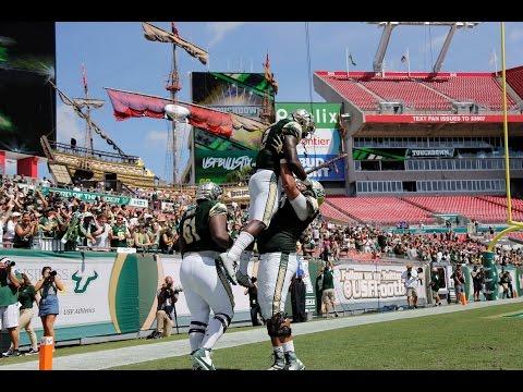 2016 American Football Highlights - USF 38, East Carolina 22