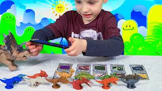 Jurassic Dinosaurs Come Alive Toy Dinosaurs Collection For Kids Learning Fun Toys Video For Children thumbnail