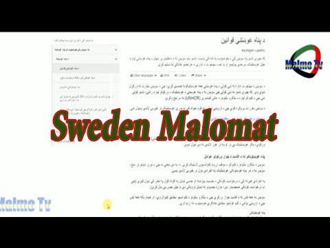 Sweden Malomat | Waris Khan With Malmo Tv