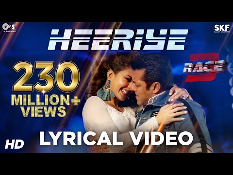 Heeriye Song Lyrical Video Race 3  Salman Khan, Jacqueline  Meet Bros, Neha Bhasin