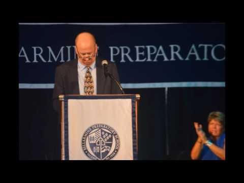 Audio of Mark Modarelli's  2016 Bellarmine Preparatory School  Graduation Speech