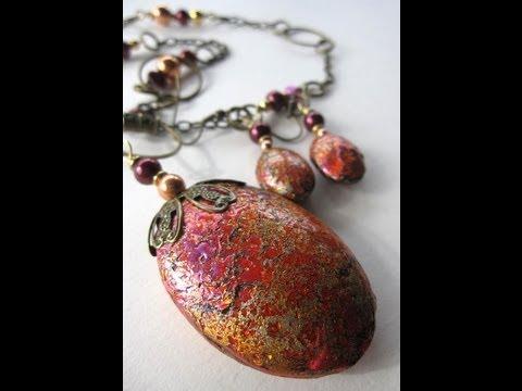 Friendly Plastic Jewel Enamel Encrusted Cabochons